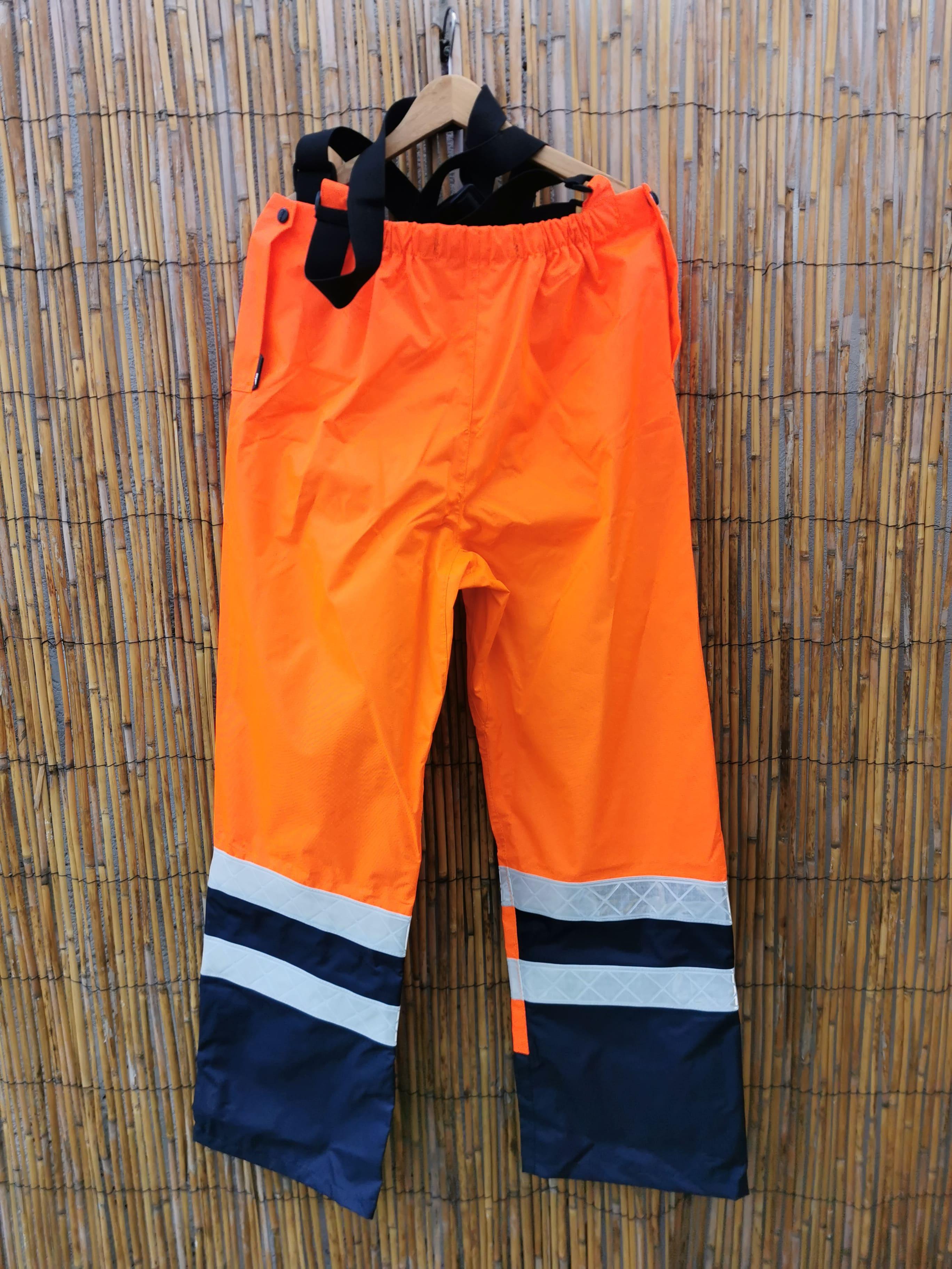 Pantalon de travail haute-visibilité orange